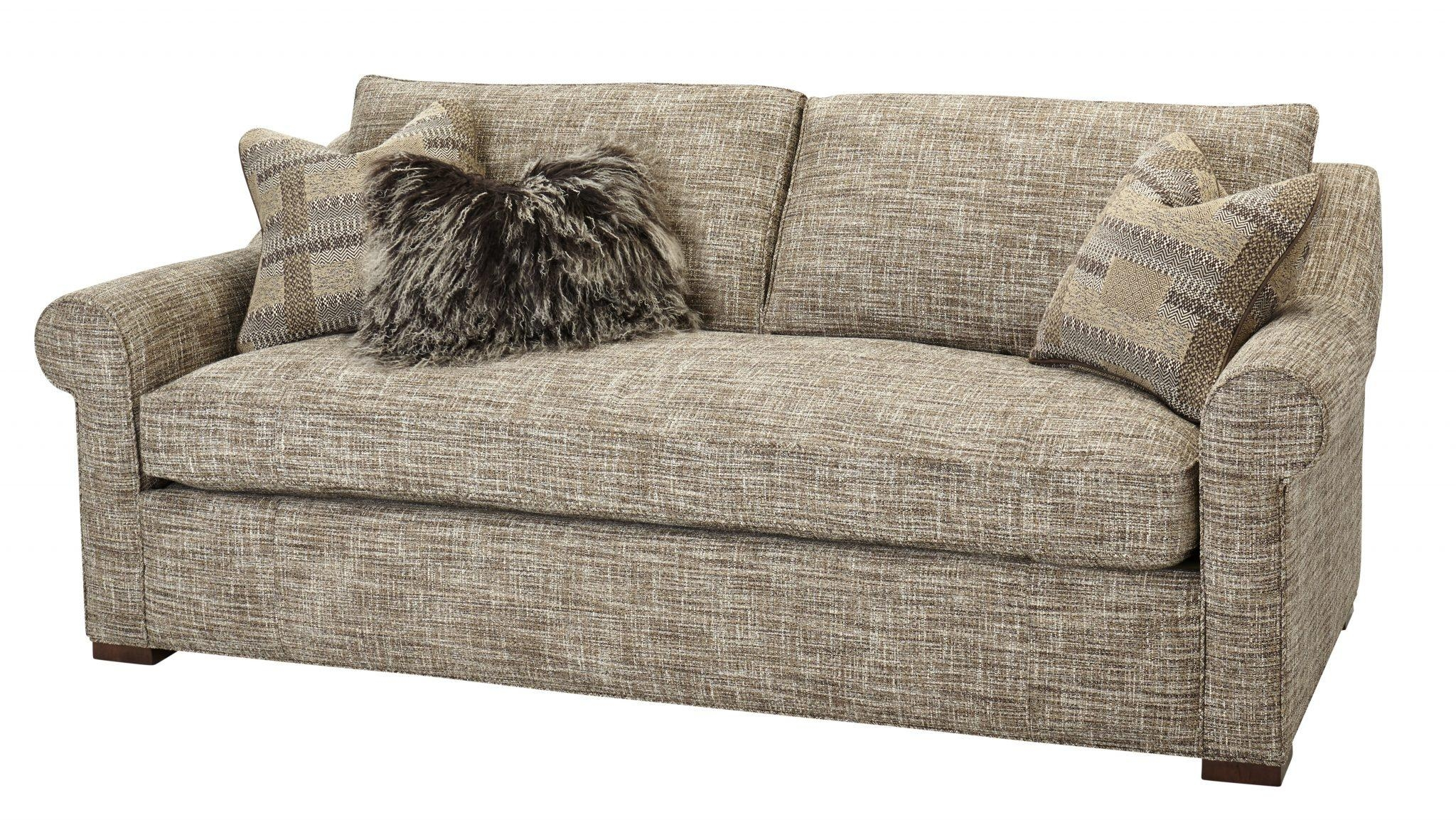 One Cushion Sofas – Massoud Furniture For Bench Cushion Sofas (Image 14 of 20)