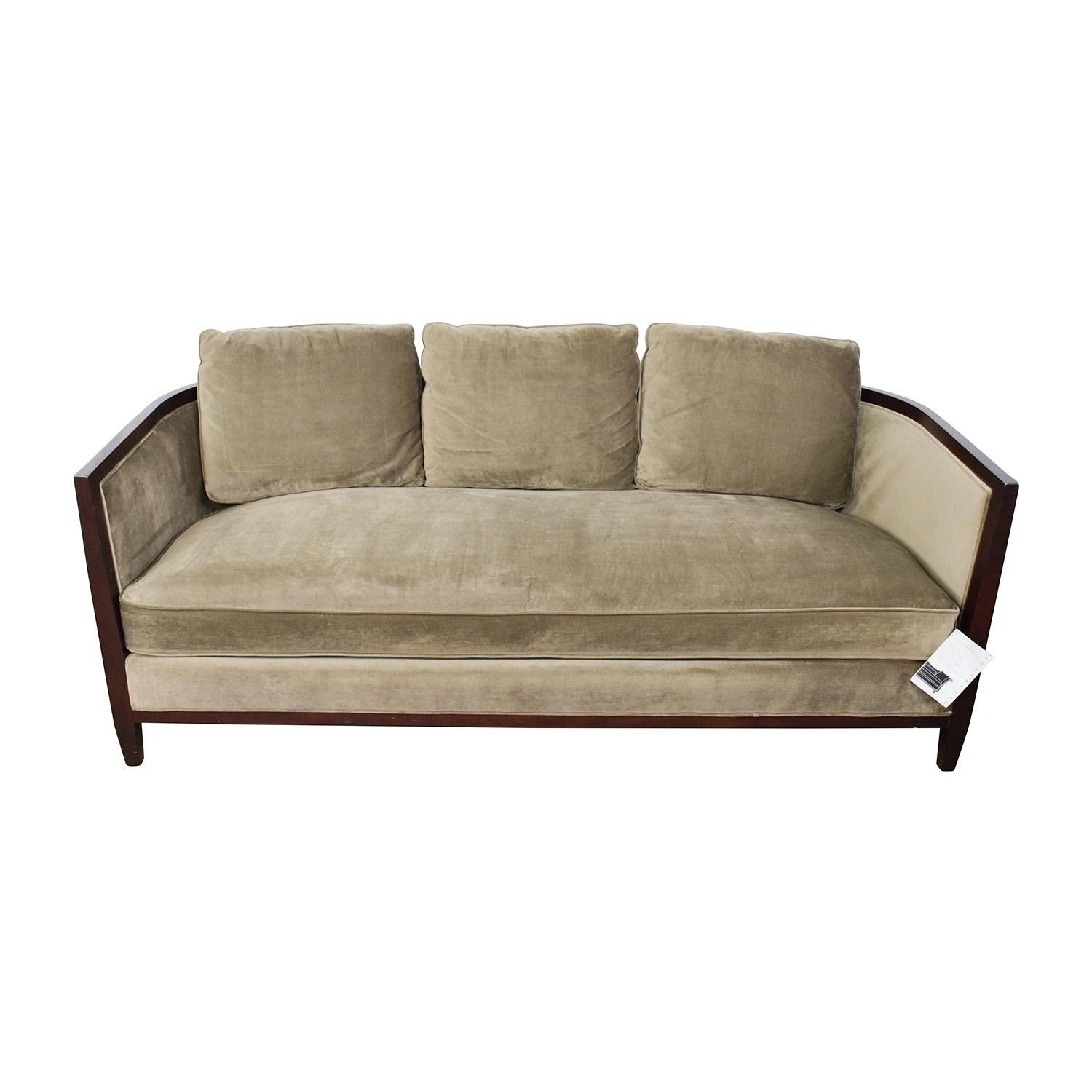 One Cushion Sofas Sale | Cushions Decoration Intended For One Cushion Sofas (Image 12 of 20)
