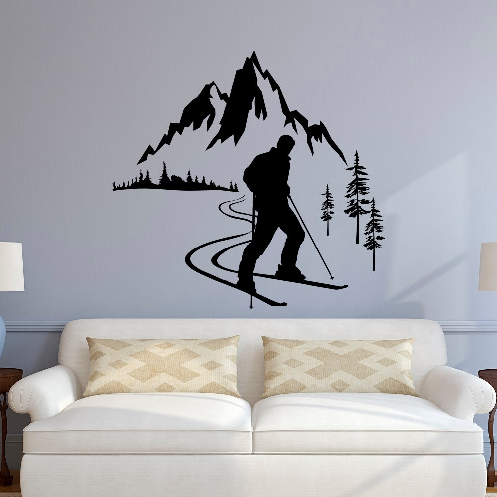 Online Buy Wholesale Sports Wall Sticker From China Sports Wall Throughout Sports Wall Decals (View 7 of 9)