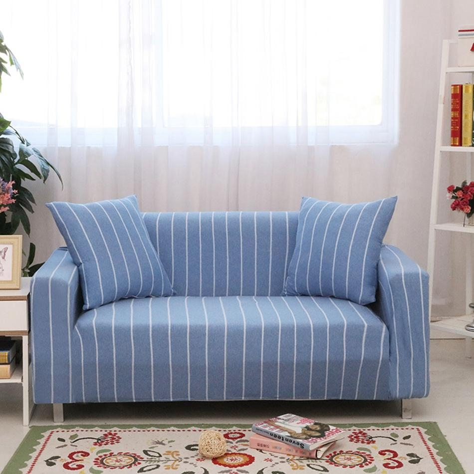 Online Get Cheap Blue Slipcovers  Aliexpress | Alibaba Group Throughout Blue Sofa Slipcovers (Image 11 of 20)