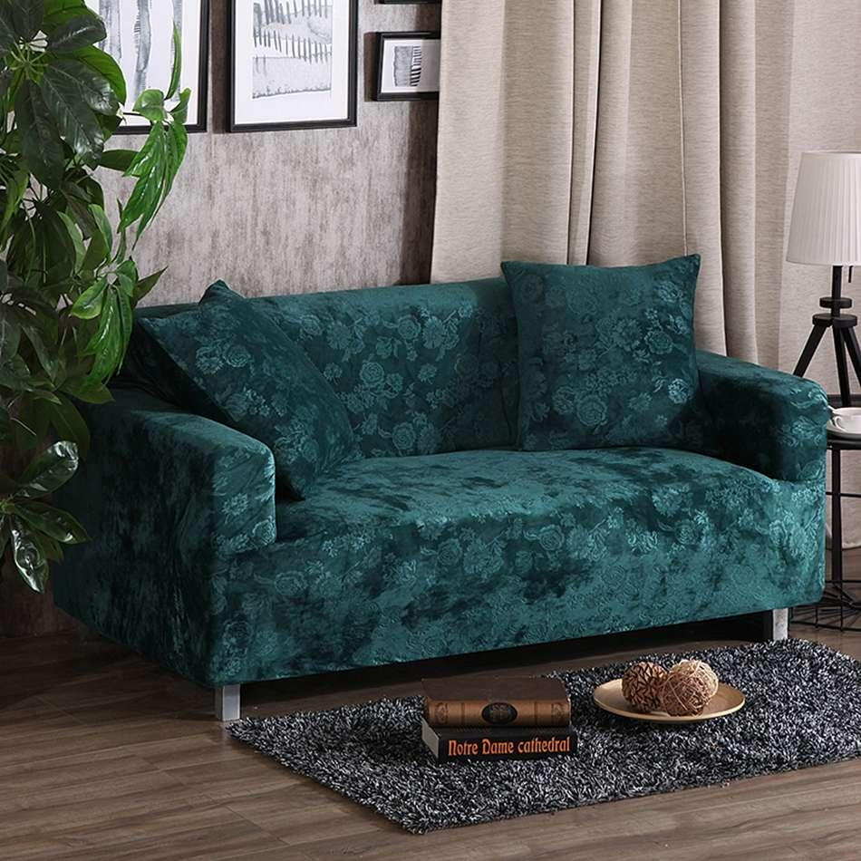 Online Get Cheap Fitted Sofa Covers  Aliexpress | Alibaba Group For Turquoise Sofa Covers (Image 12 of 20)