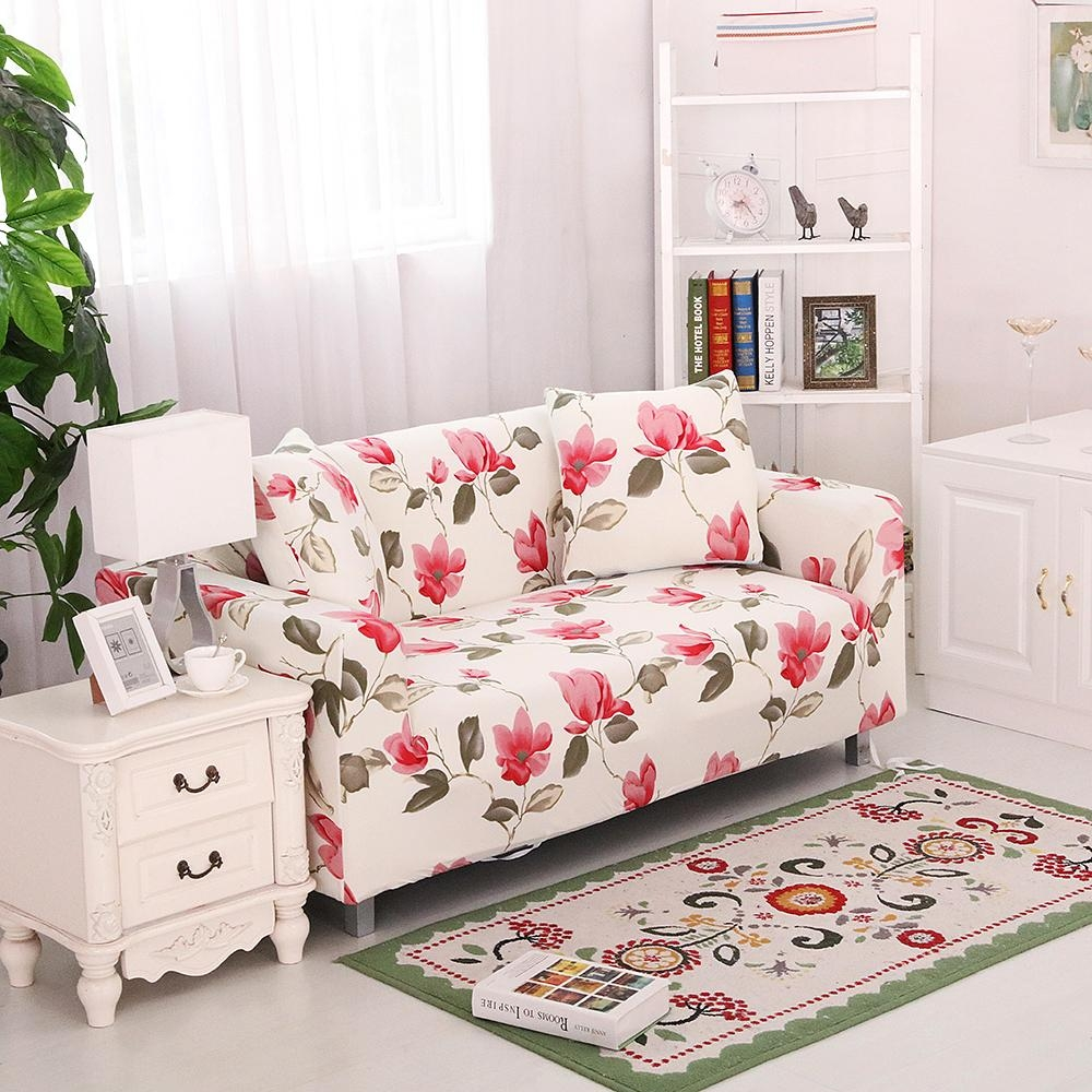 Online Get Cheap Floral Sofa Slipcover  Aliexpress | Alibaba Group Throughout Floral Sofa Slipcovers (Image 11 of 20)