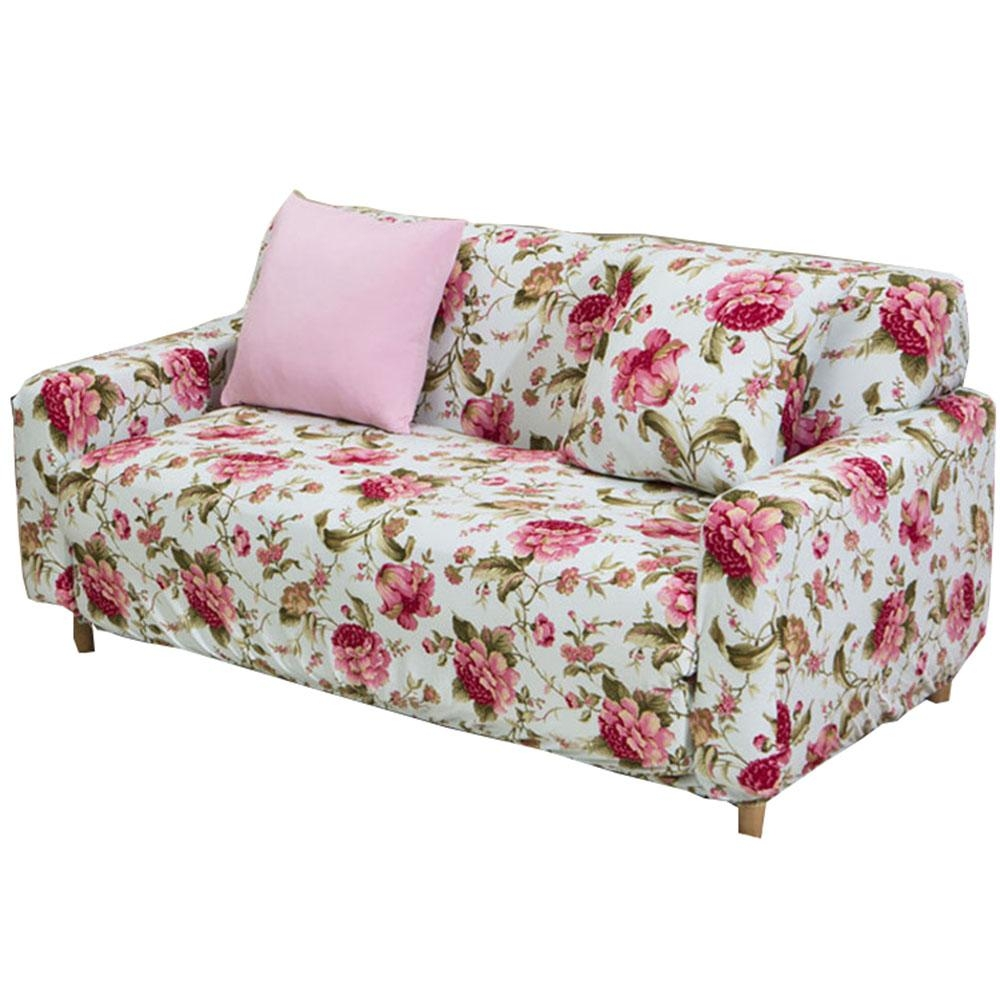 Online Get Cheap Floral Sofa Slipcover Aliexpress | Alibaba Group With Floral Sofa Slipcovers (View 17 of 20)