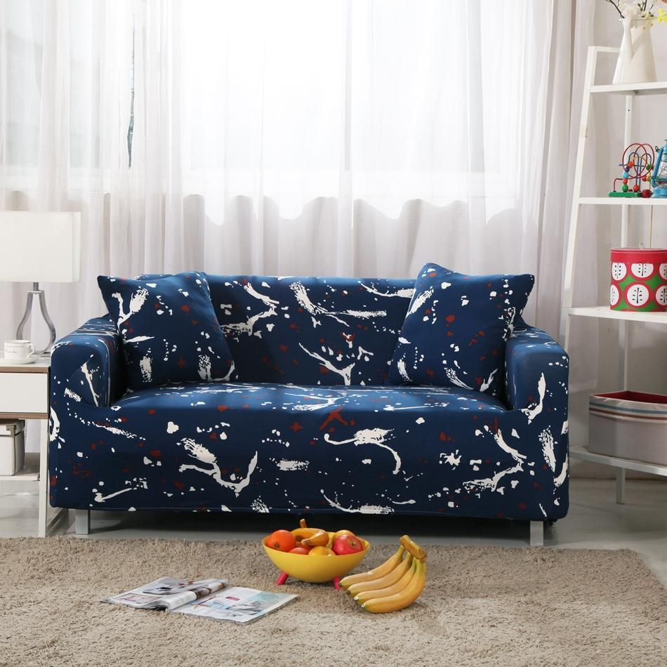 Online Get Cheap Navy Sofa Slipcover  Aliexpress | Alibaba Group In Navy Blue Slipcovers (Image 16 of 20)