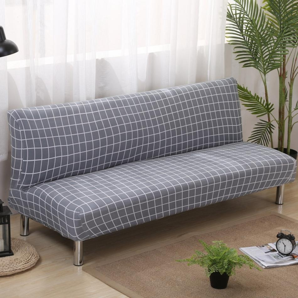 Online Get Cheap Plaid Couch Covers Aliexpress | Alibaba Group With Regard To Armless Couch Slipcovers (View 3 of 20)