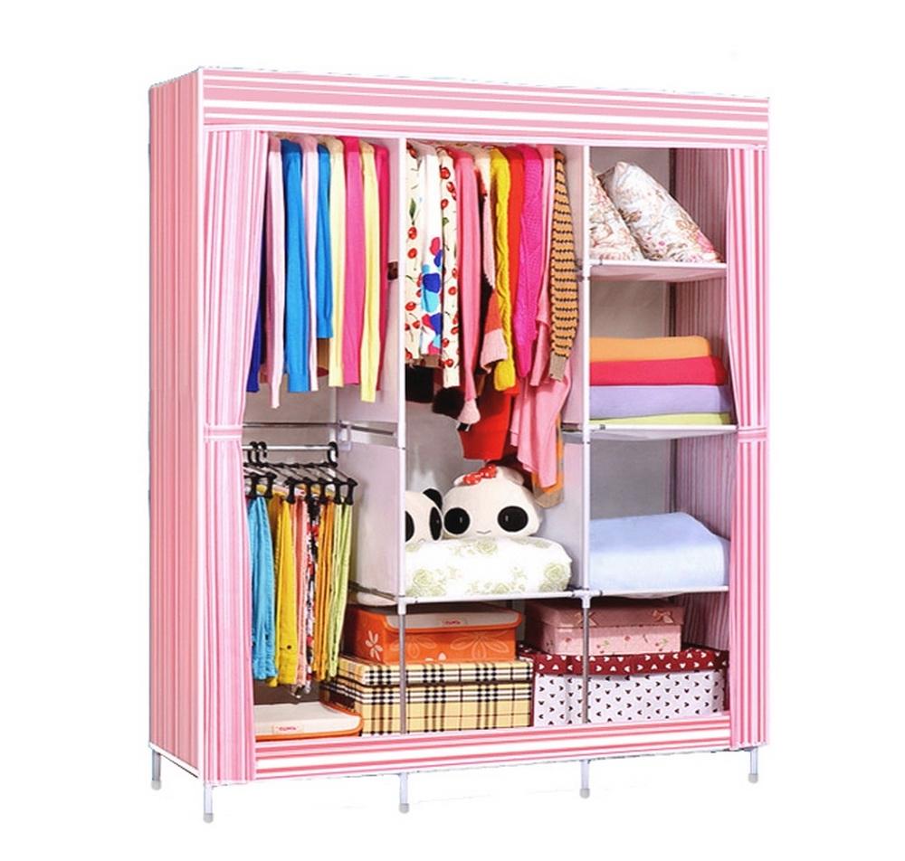 On The Go With A Portable Wardrobe Closet Custom Home Design