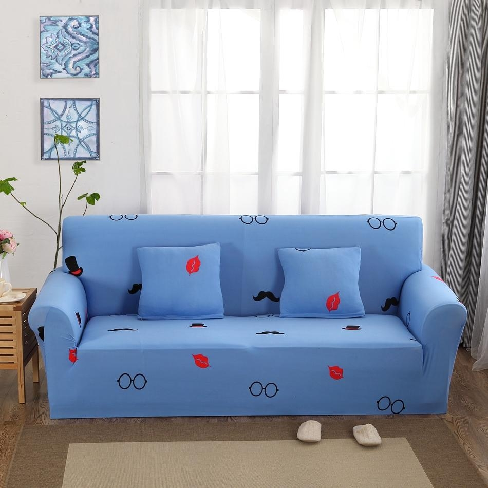 Online Get Cheap Sofa Slipcovers Blue  Aliexpress | Alibaba Group Pertaining To Teal Sofa Slipcovers (Image 14 of 20)