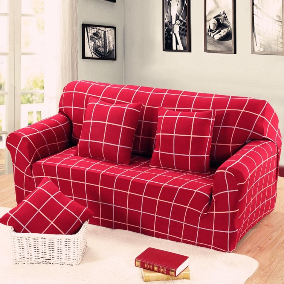 Online Get Cheap Striped Sofa Slipcover  Aliexpress | Alibaba Intended For Striped Sofa Slipcovers (Image 12 of 20)