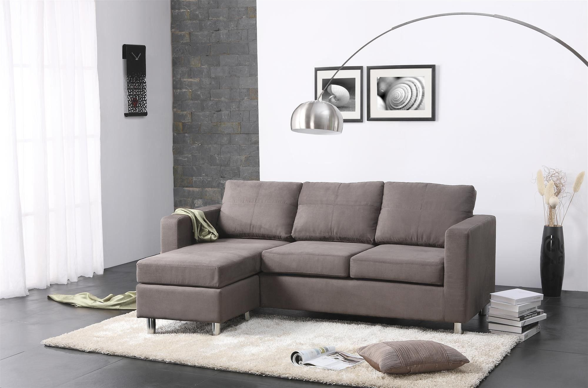 Opulent Ideas Couch For Small Living Room Exquisite Decoration 23 For Modern Sectional Sofas For Small Spaces (View 6 of 20)