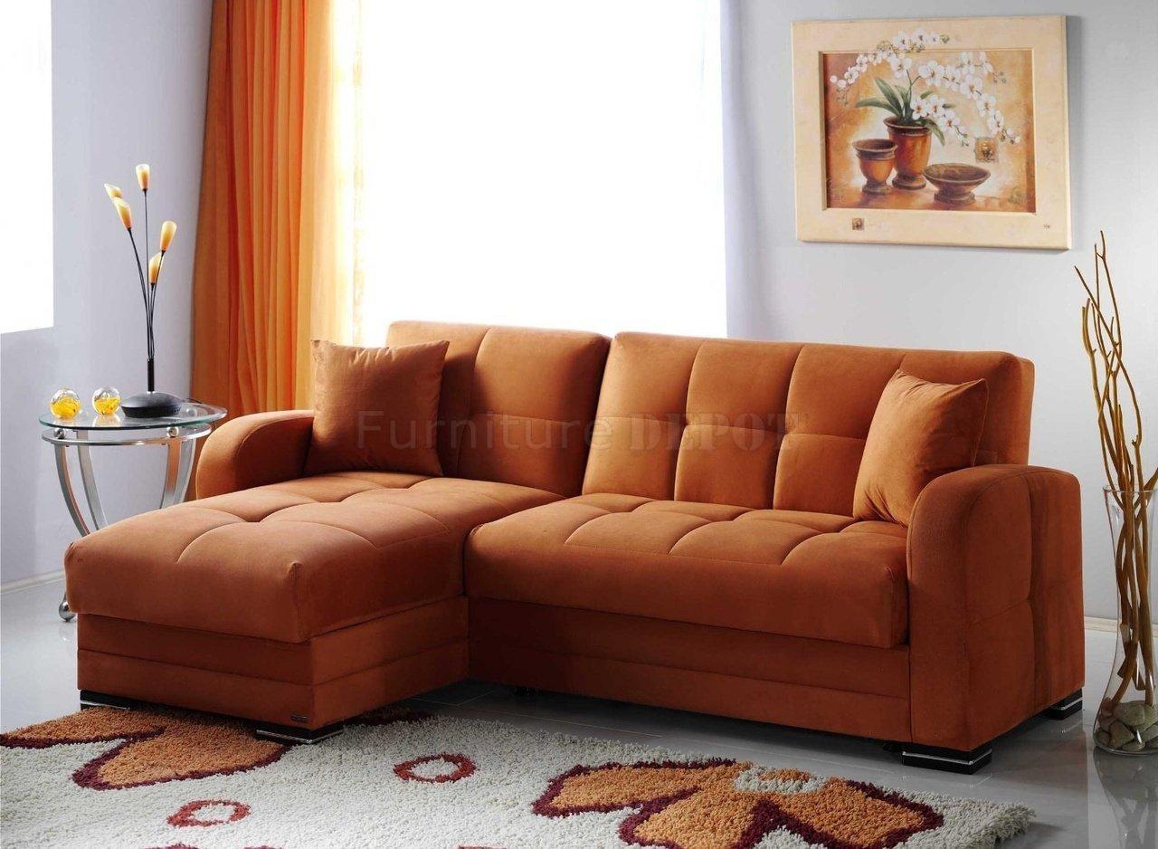 Orange Leather Sofa Canada | Tehranmix Decoration With Burnt Orange Sofas (Image 8 of 20)