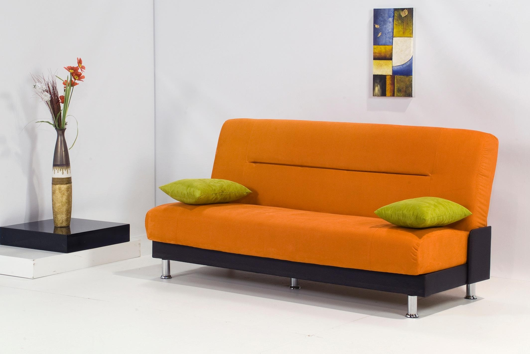 Orange Modern Sofa | Sofa Gallery | Kengire Throughout Orange Modern Sofas (Photo 3 of 20)