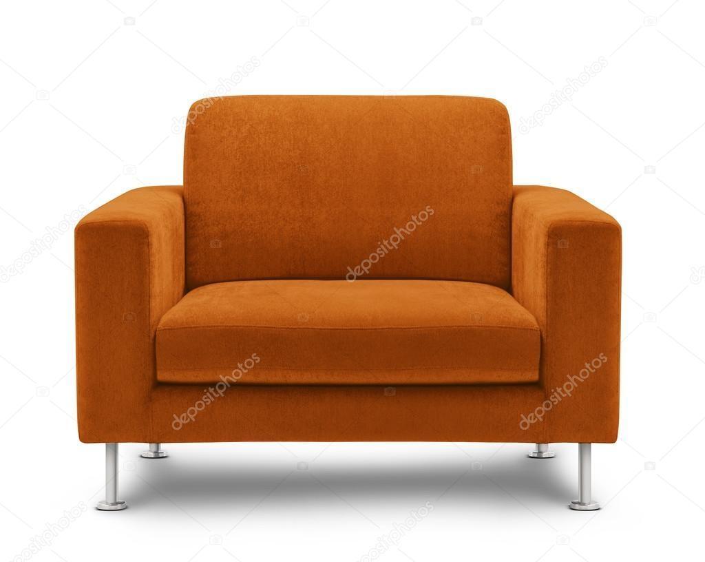Orange Sofa Furniture — Stock Photo © Bluehand #33633747 With Orange Sofa Chairs (View 16 of 20)