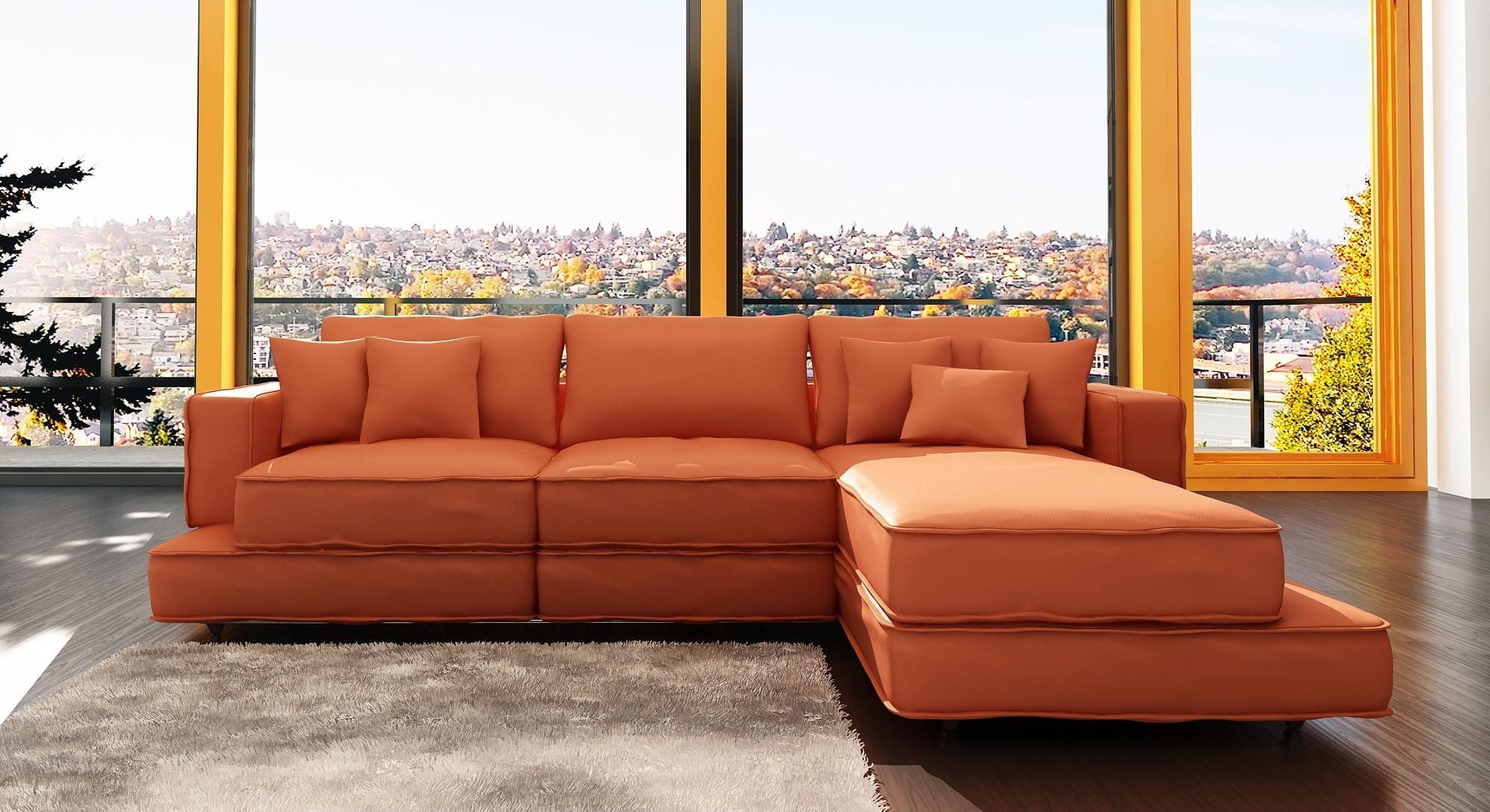 Orange Sofas – Home Interior Minimalis – T Tech (View 7 of 20)