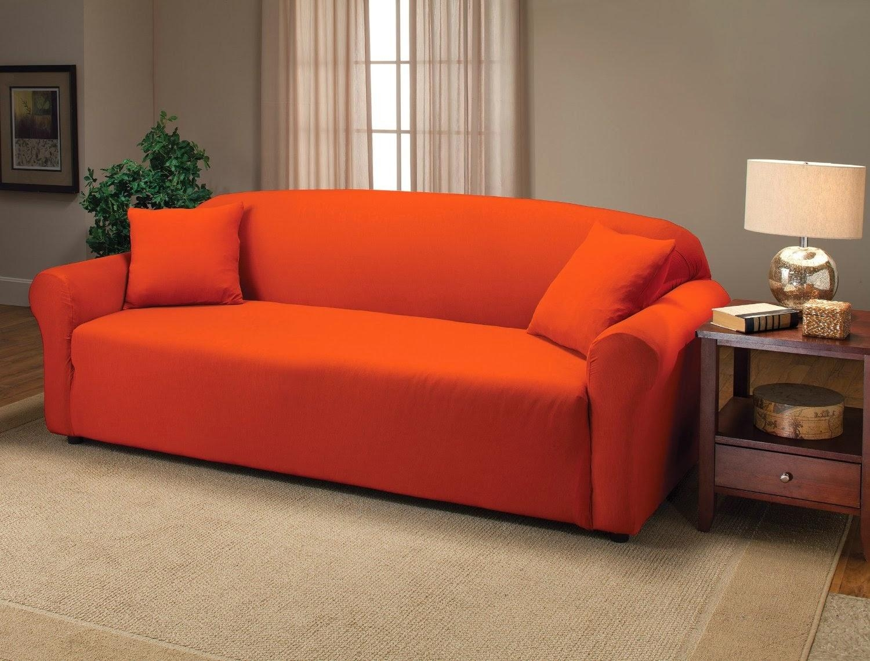 Orange Sofas Modern Orange Sofas Couches Allmodern – Thesofa In Burnt Orange Sofas (Image 12 of 20)