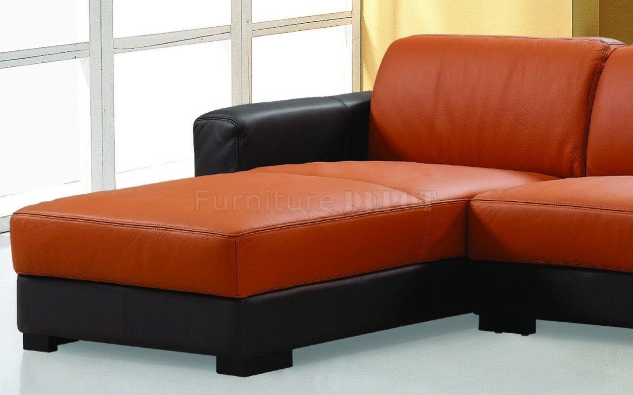 Orange Sofas | Tehranmix Decoration Regarding Burnt Orange Sofas (View 6 of 20)