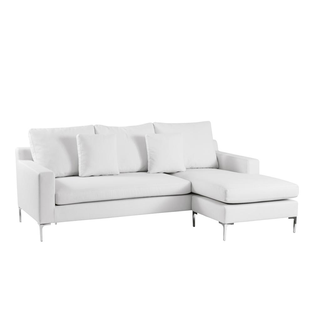 white leather couch 20 best collection of white leather corner sofa sofa ideas 21989 | oslo reversible corner sofa white dwell pertaining to white leather corner sofa