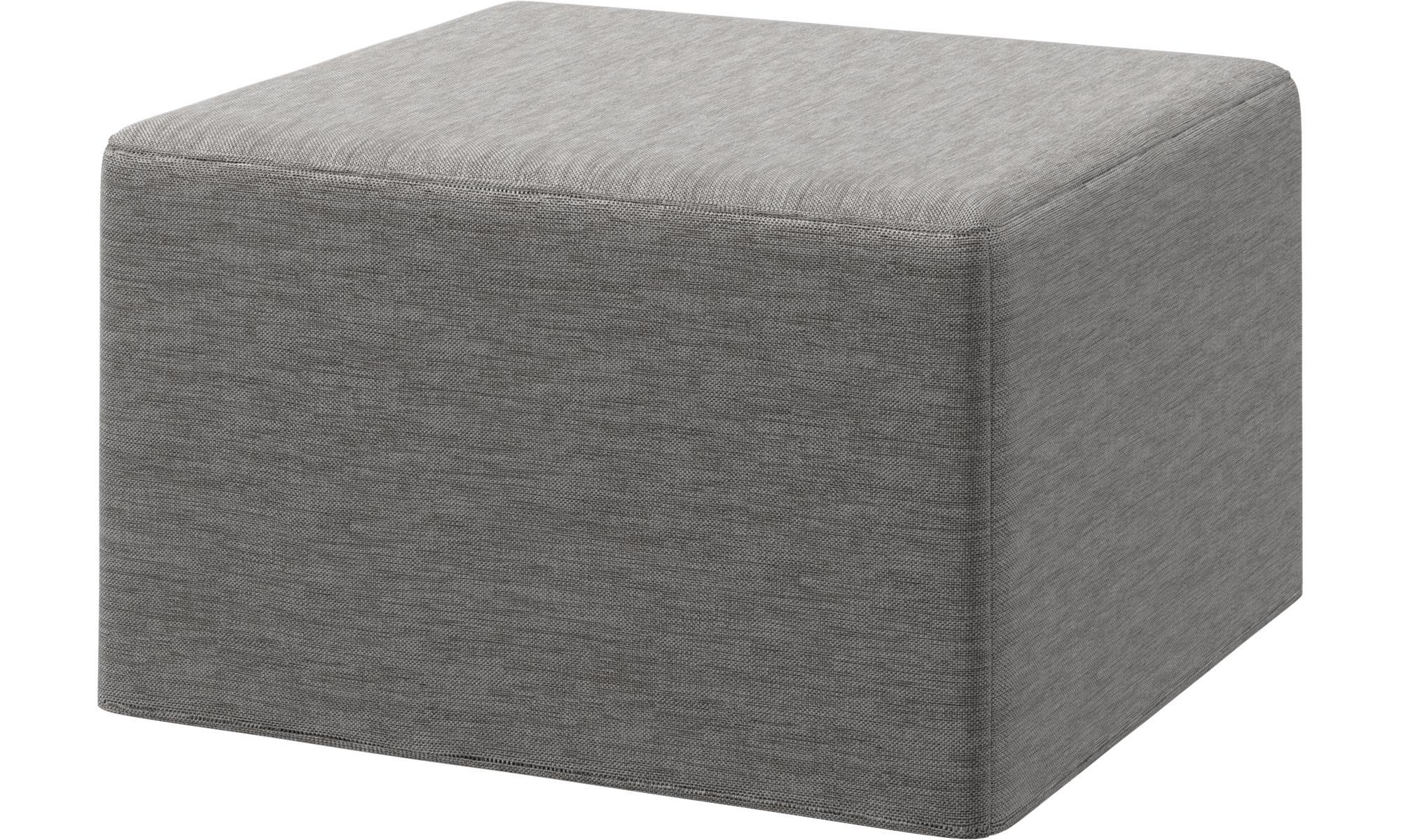 Ottomans – Xtra Footstool With Sleeping Function – Boconcept Pertaining To Footstool Pouffe Sofa Folding Bed (Image 15 of 20)