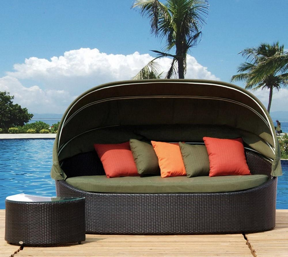 Outdoor Canopy Beds – Patio In Outdoor Sofas With Canopy (View 2 of 20)