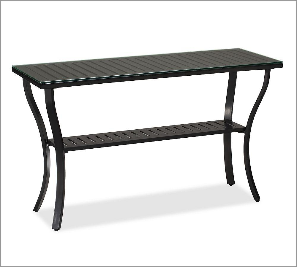 Outdoor Console Table | Home Designjohn Throughout Patio Sofa Tables (Image 13 of 20)