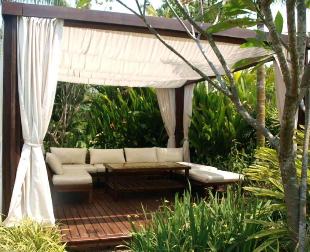 Outdoor Furniture Canopy – Creativealternatives (View 4 of 20)