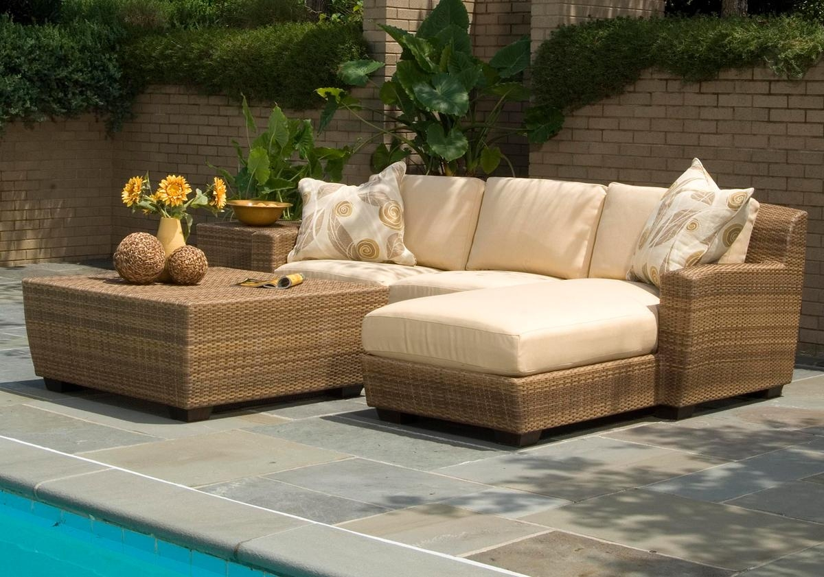 Outdoor Wicker Furniture – Patio Productions Regarding Outdoor Sofas And Chairs (Image 12 of 20)