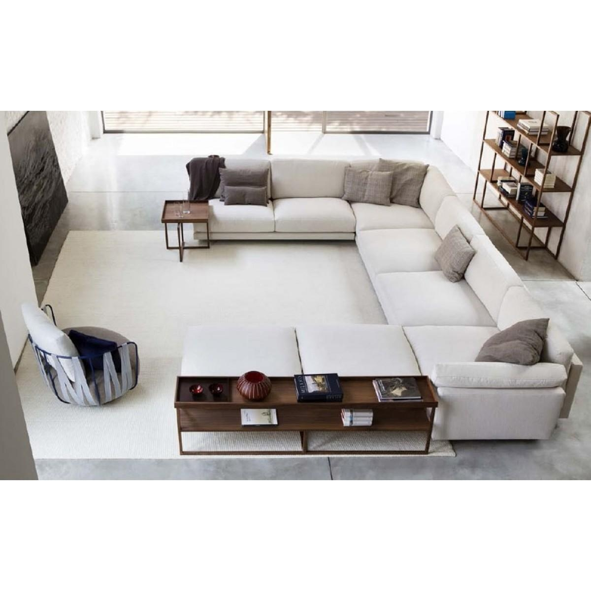 Oversized Deep Sectional Sofas | Tehranmix Decoration Pertaining To Wide Seat Sectional Sofas (View 14 of 20)