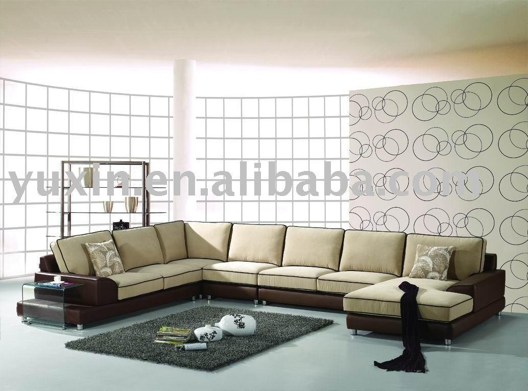 Oversized Sectional Couches Acme Leather Sectional Sofa – S3Net Regarding Huge Sofas (View 13 of 20)
