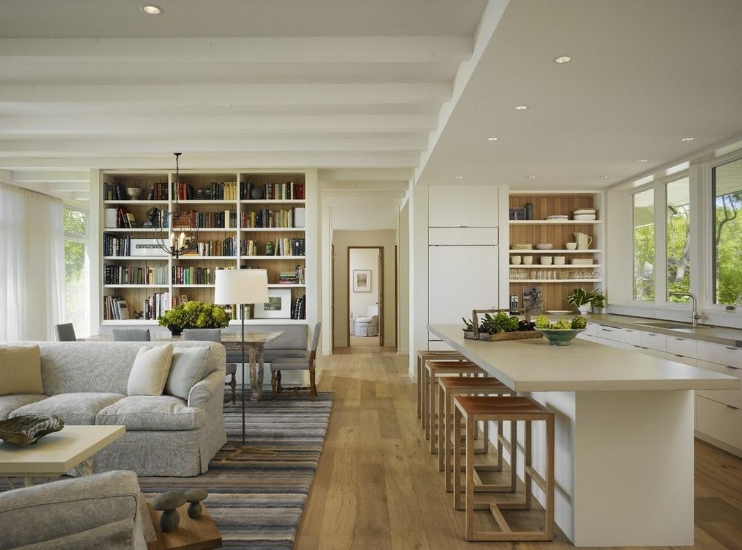 Overwhelming Open Plan Kitchen Design Ideas Showcasing Long For Sofas For Kitchen Diner (View 18 of 21)