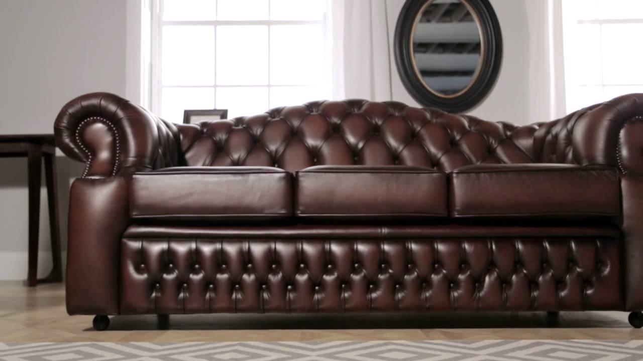 Oxford Chesterfield Sofa From Sofassaxon – Youtube For Oxford Sofas (View 3 of 20)