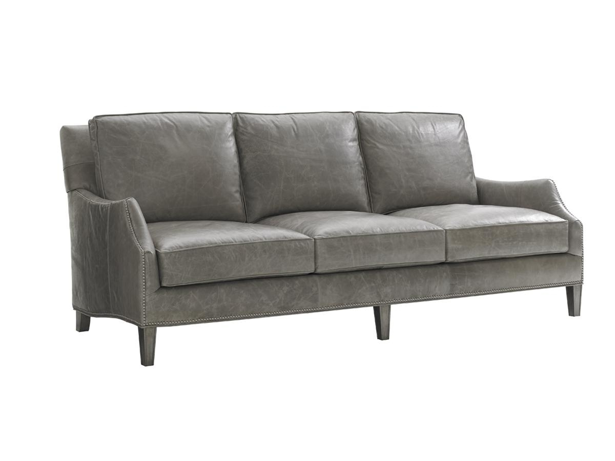 Oyster Bay Ashton Leather Sofa | Lexington Home Brands For Ashton Sofas (View 9 of 20)