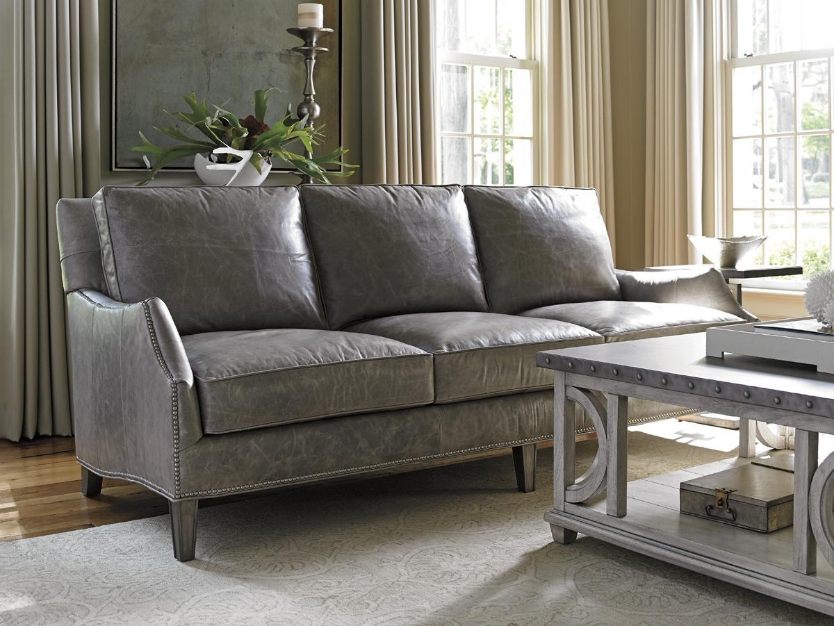 Oyster Bay Ashton Leather Sofa | Lexington Home Brands Inside Ashton Sofas (View 11 of 20)