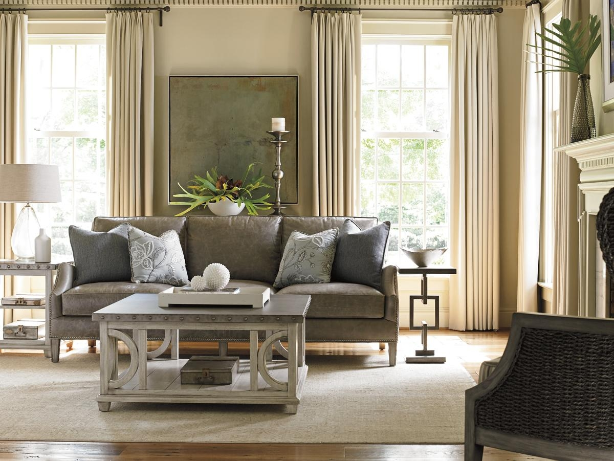 Oyster Bay Ashton Leather Sofa | Lexington Home Brands Throughout Ashton Sofas (View 5 of 20)