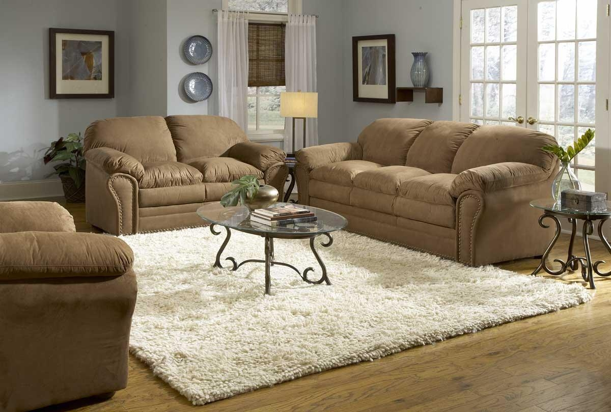 Paint Colors For Living Room With Brown Couch | Home Designjohn With Living Room With Brown Sofas (Image 18 of 20)