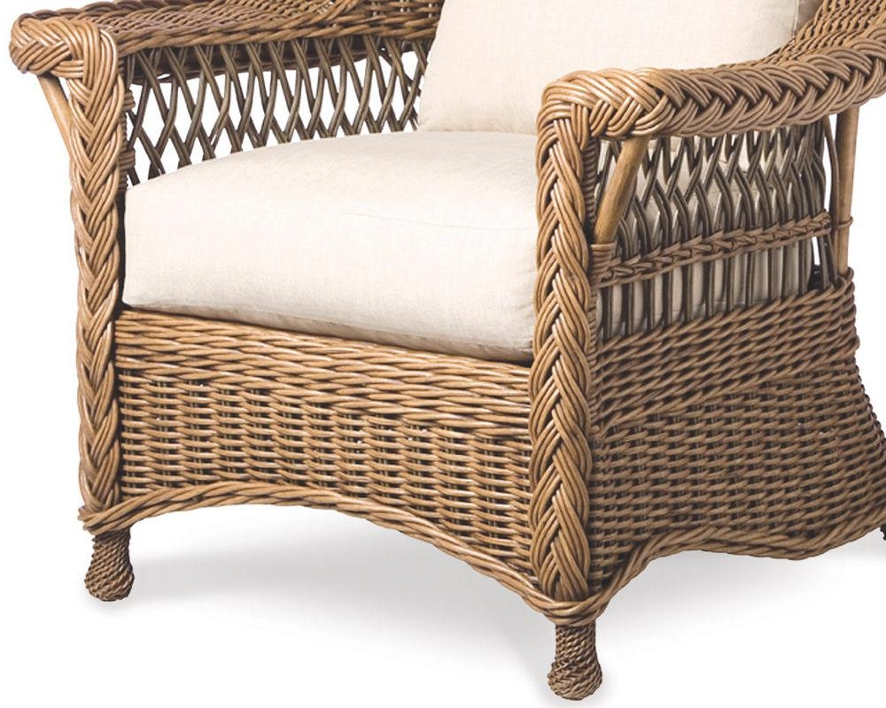 Palecek Bridgeport Lounge Chair 7175 Rattan Wicker Furniture Pertaining To Bridgeport Sofas (Image 15 of 20)