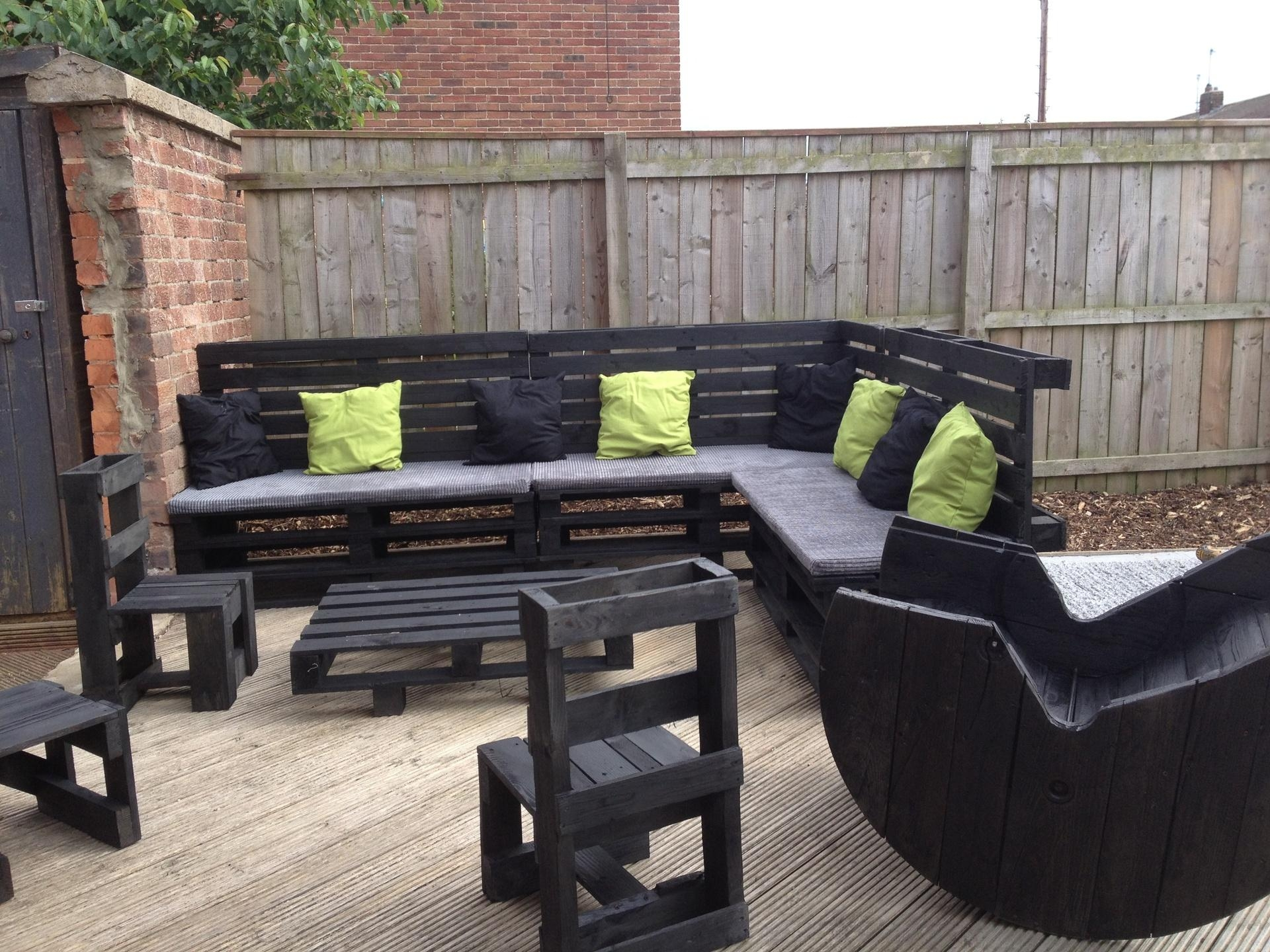 Pallet Furniture Ideas – Creditrestore Pertaining To Pallet Sofas (View 20 of 20)
