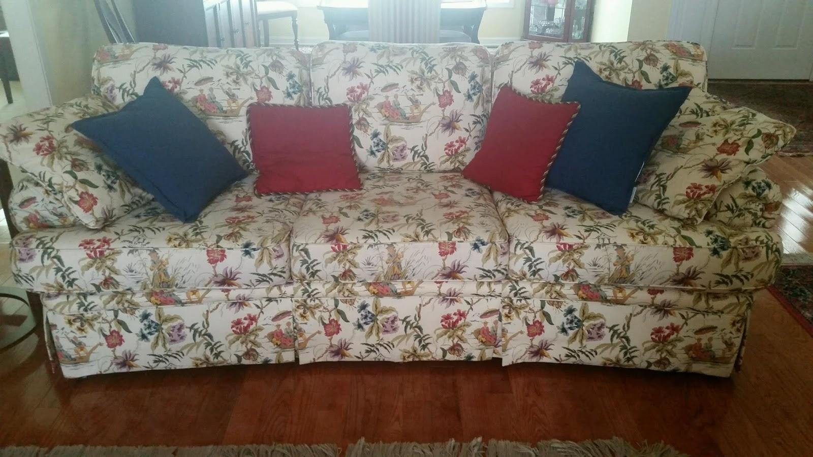20 collection of chintz covered sofas