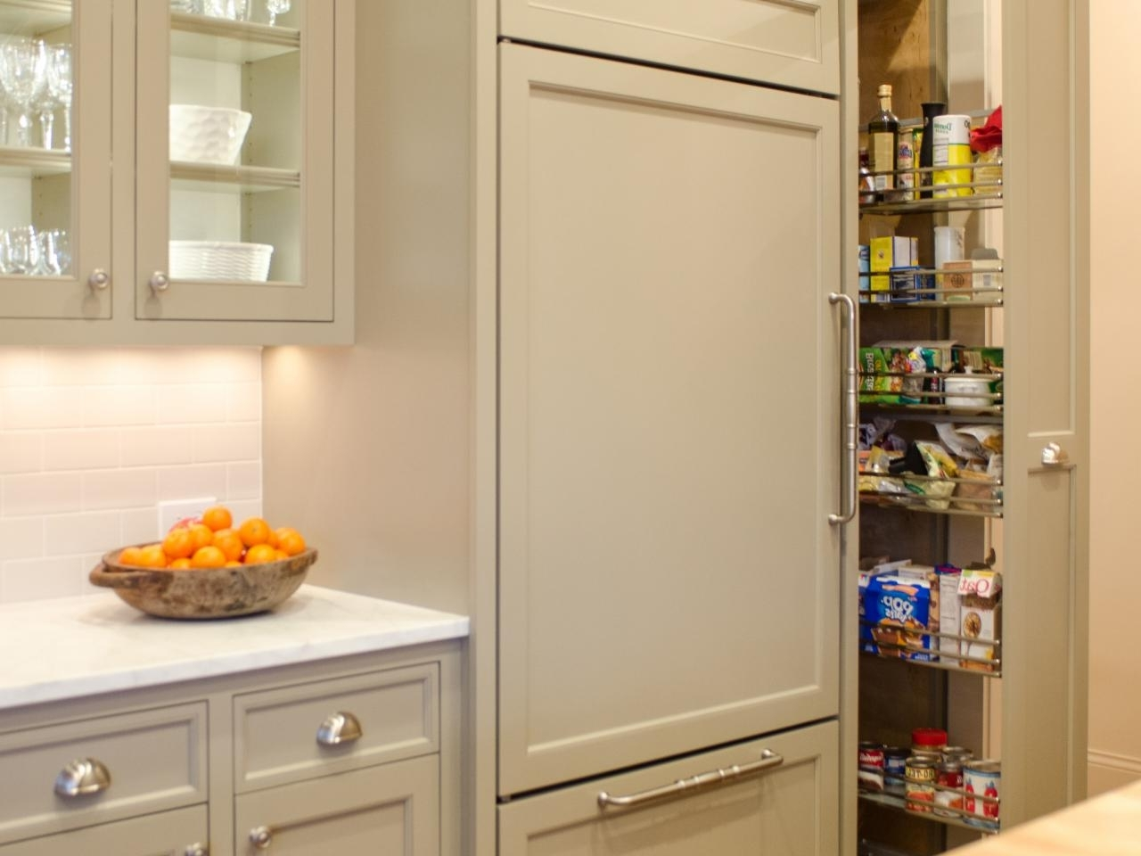 Pantry Cabinet Plans: Pictures, Options, Tips & Ideas | Hgtv Regarding Pantry Cabinets (View 1 of 17)