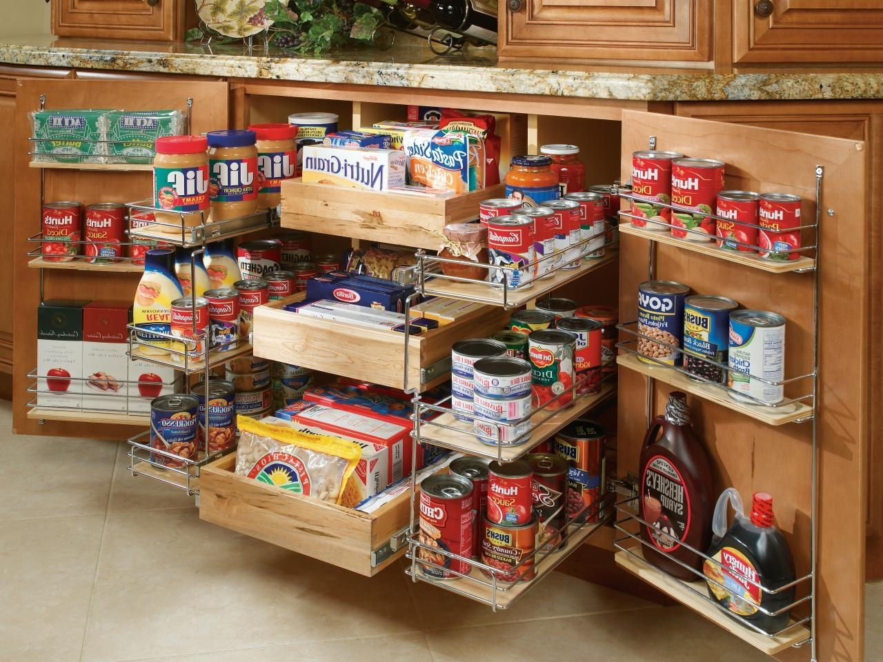 Pantry Cabinets And Cupboards: Organization Ideas And Options | Hgtv With Regard To Pantry Cabinets To Utilize Your Kitchen (Image 17 of 17)