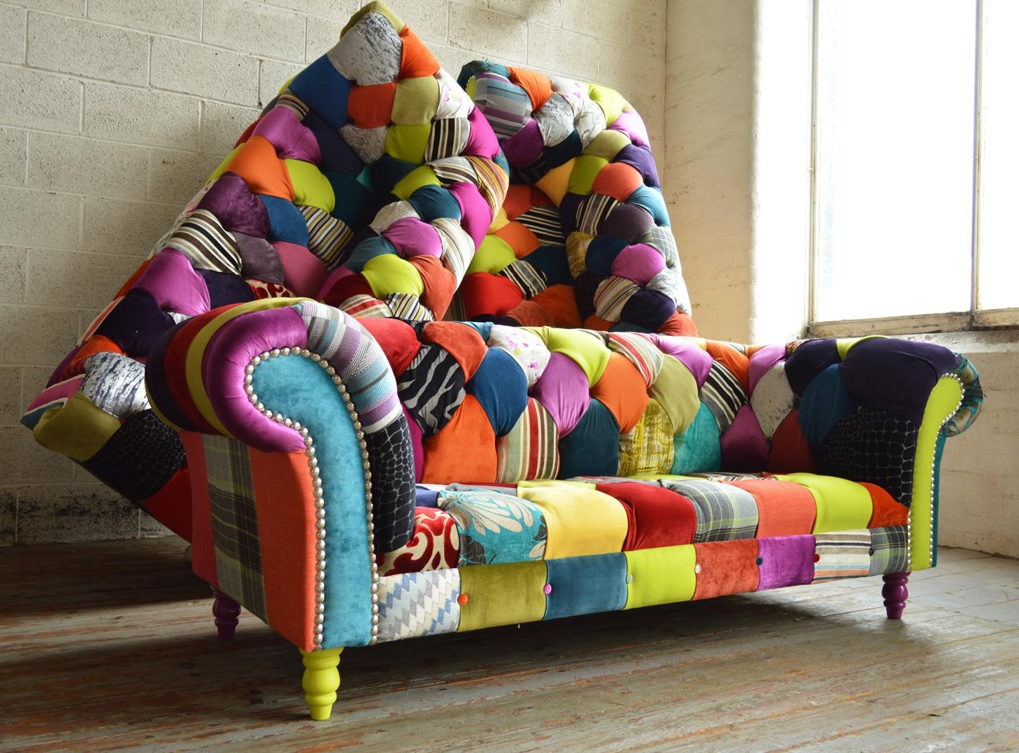 Patchwork Furniture | Abode Sofas Inside Chintz Sofas And Chairs (View 5 of 20)