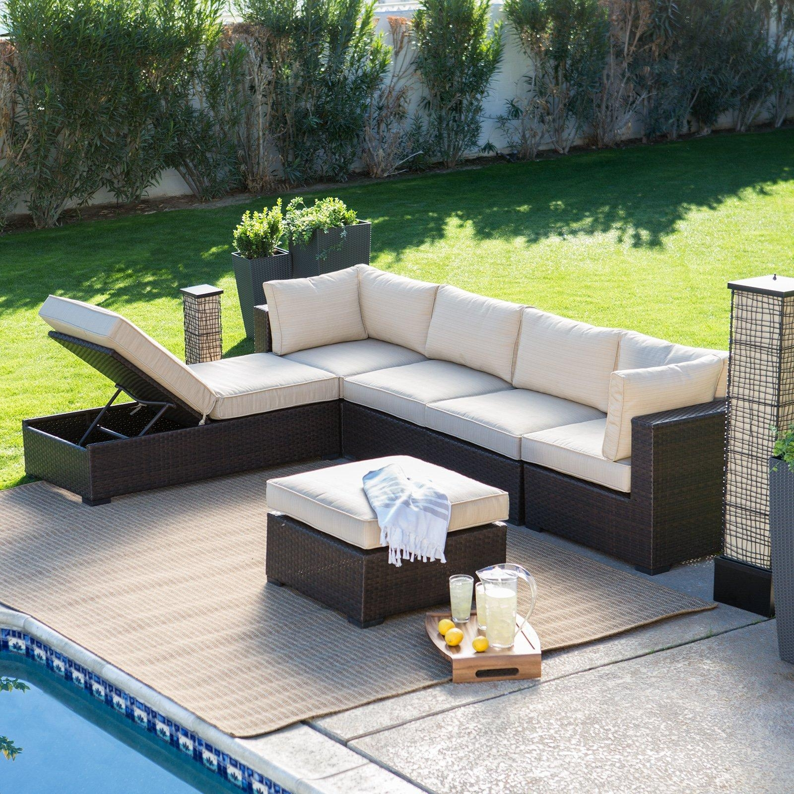 Patio: Cool Conversation Sets Patio Furniture Clearance With For Conversation Sectional (View 12 of 15)