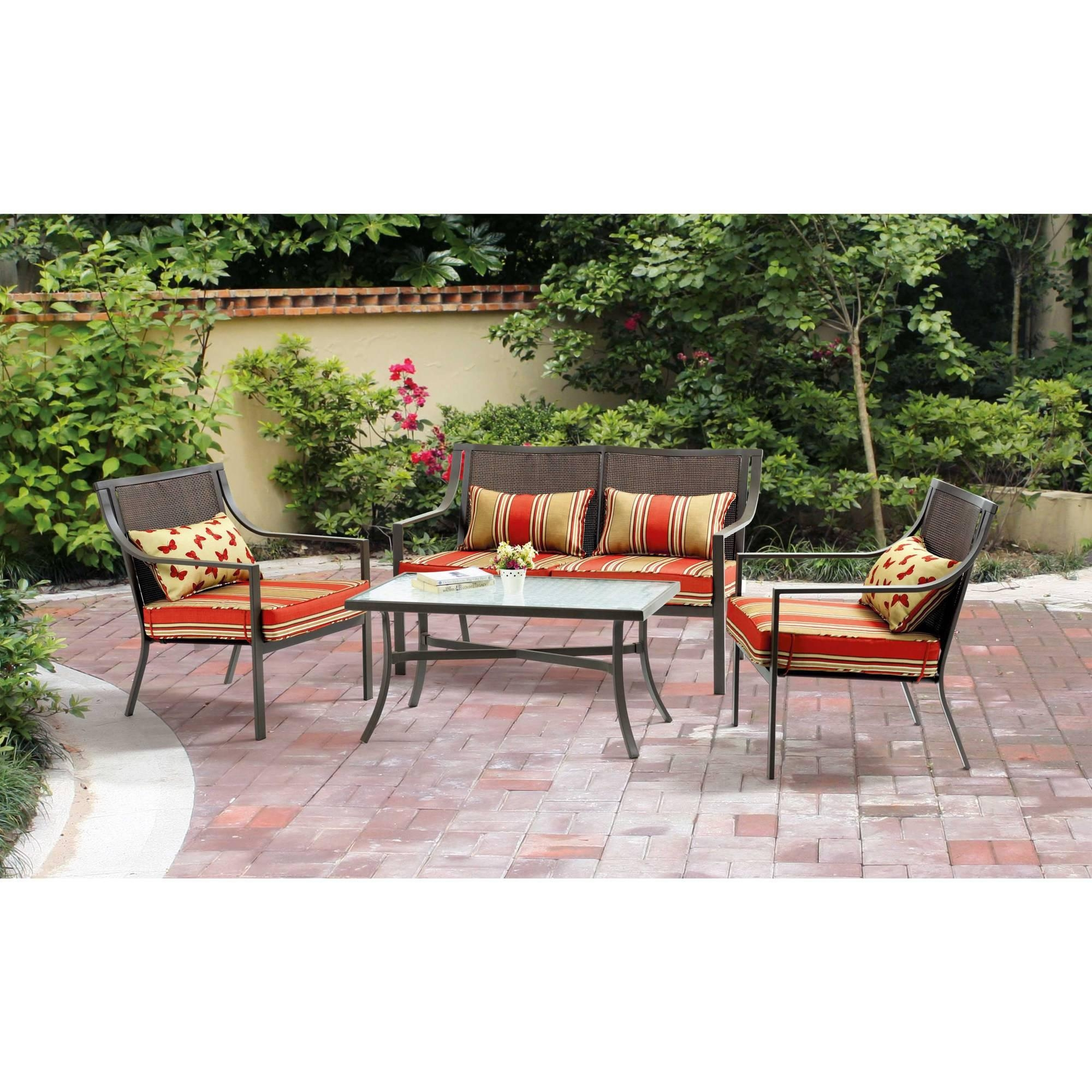 Patio: Cool Conversation Sets Patio Furniture Clearance With With Regard To Conversation Sectional (Image 6 of 15)