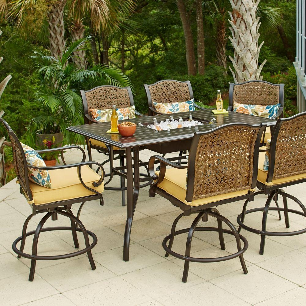 Patio Furniture For Your Outdoor Space – The Home Depot Throughout Outdoor Sofas And Chairs (Image 16 of 20)