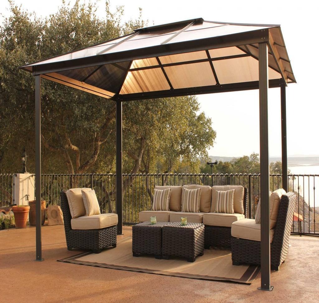 Patio Gazebos And Canopies | Patio Decoration In Outdoor Sofas With Canopy (Image 17 of 20)