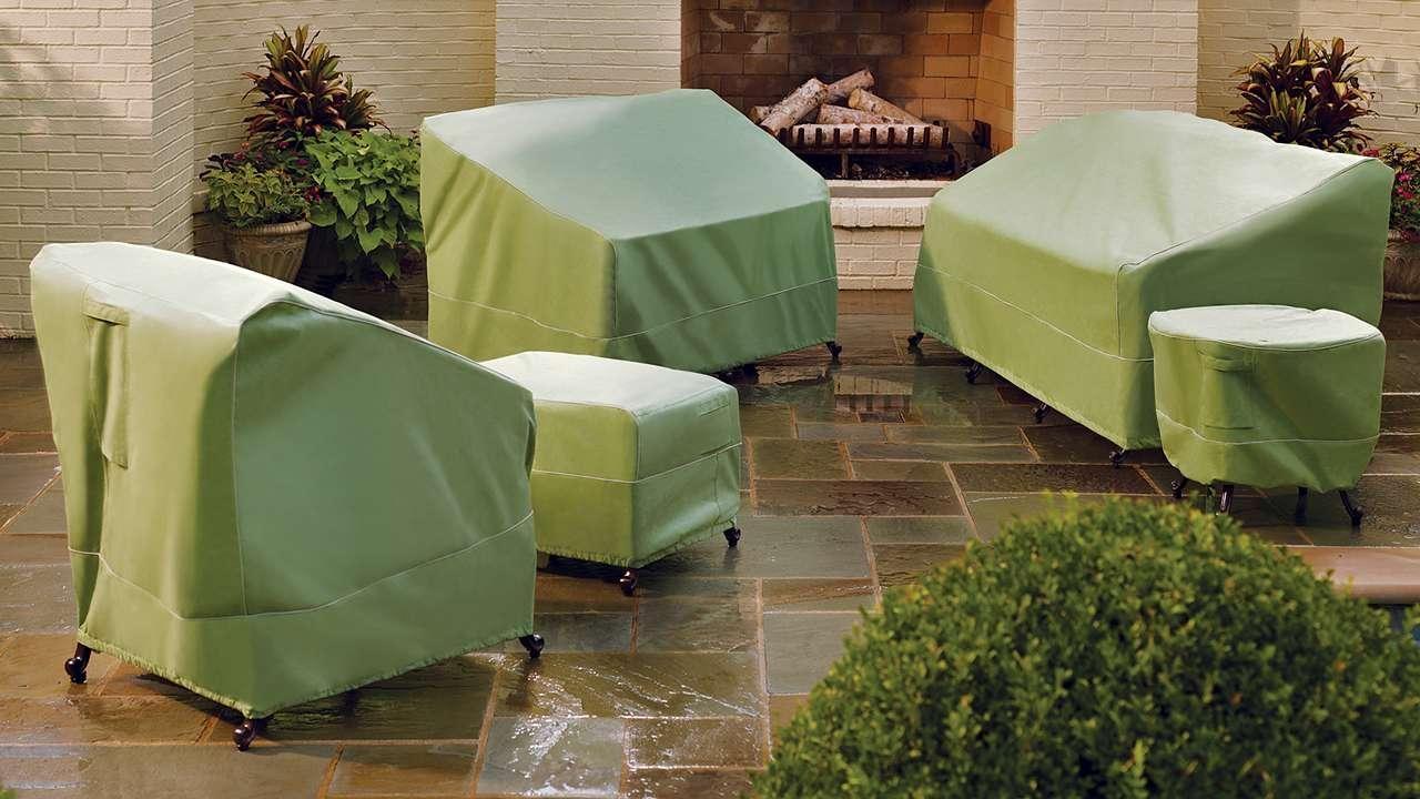 Patio, Patio Sofa Cover | Pythonet Home Furniture Pertaining To Garden Sofa Covers (Image 17 of 22)