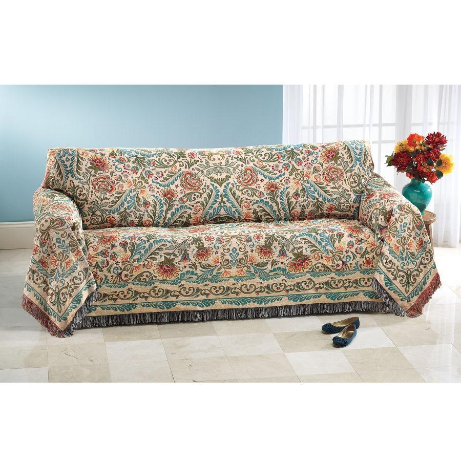 Patterned Sofa Slipcovers | Sofa Gallery | Kengire With Patterned Sofa Slipcovers (Image 16 of 20)