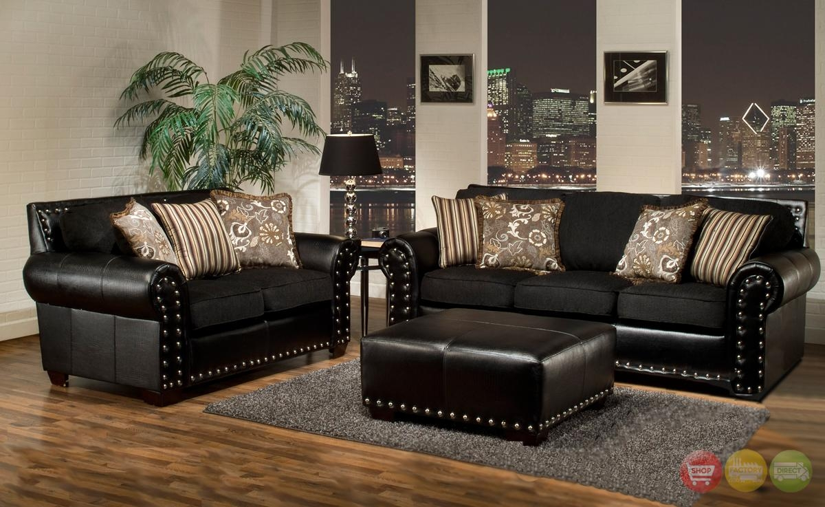 Perfect Black Living Room Sets Size Of Roomleather Red And Set With Black Sofas For Living Room (View 5 of 20)