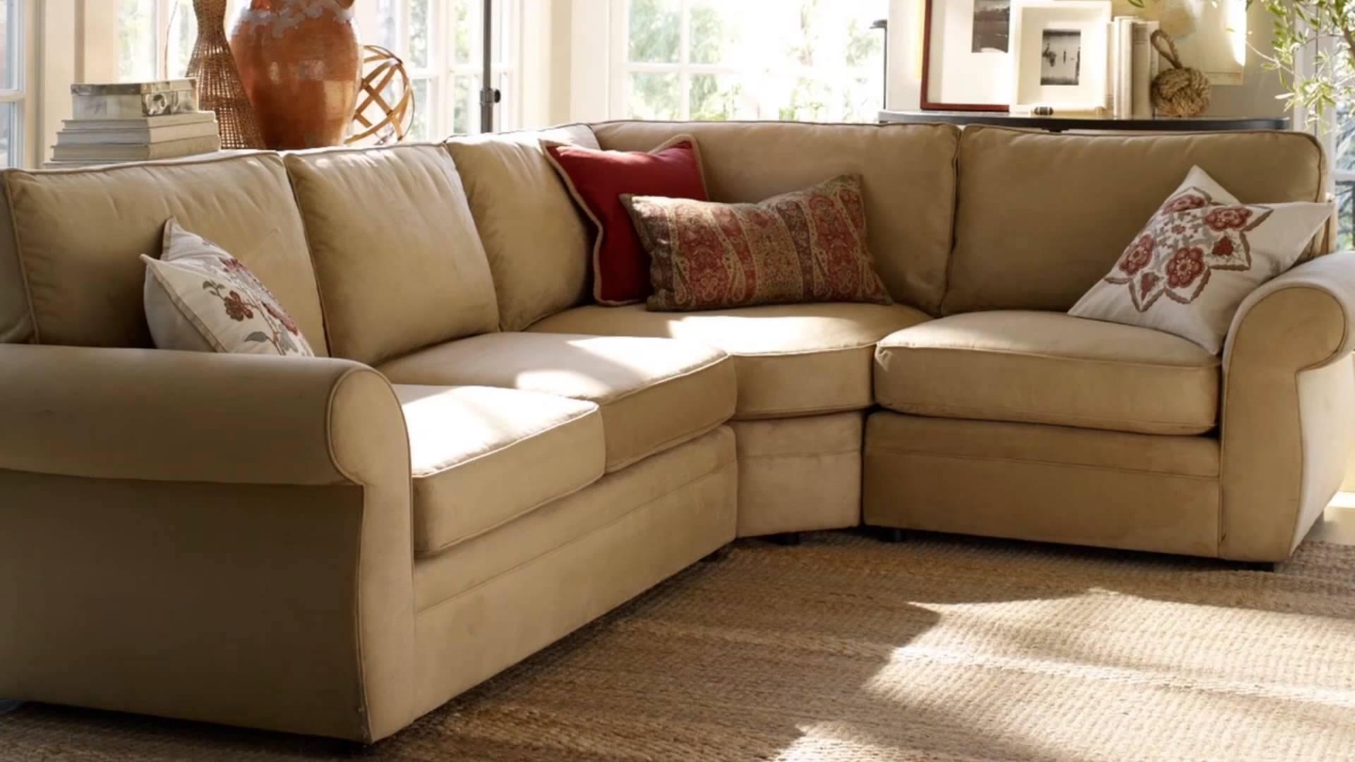 Performance Upholstery Fabric | Pottery Barn – Youtube Inside Tweed Fabric Sofas (Image 11 of 20)