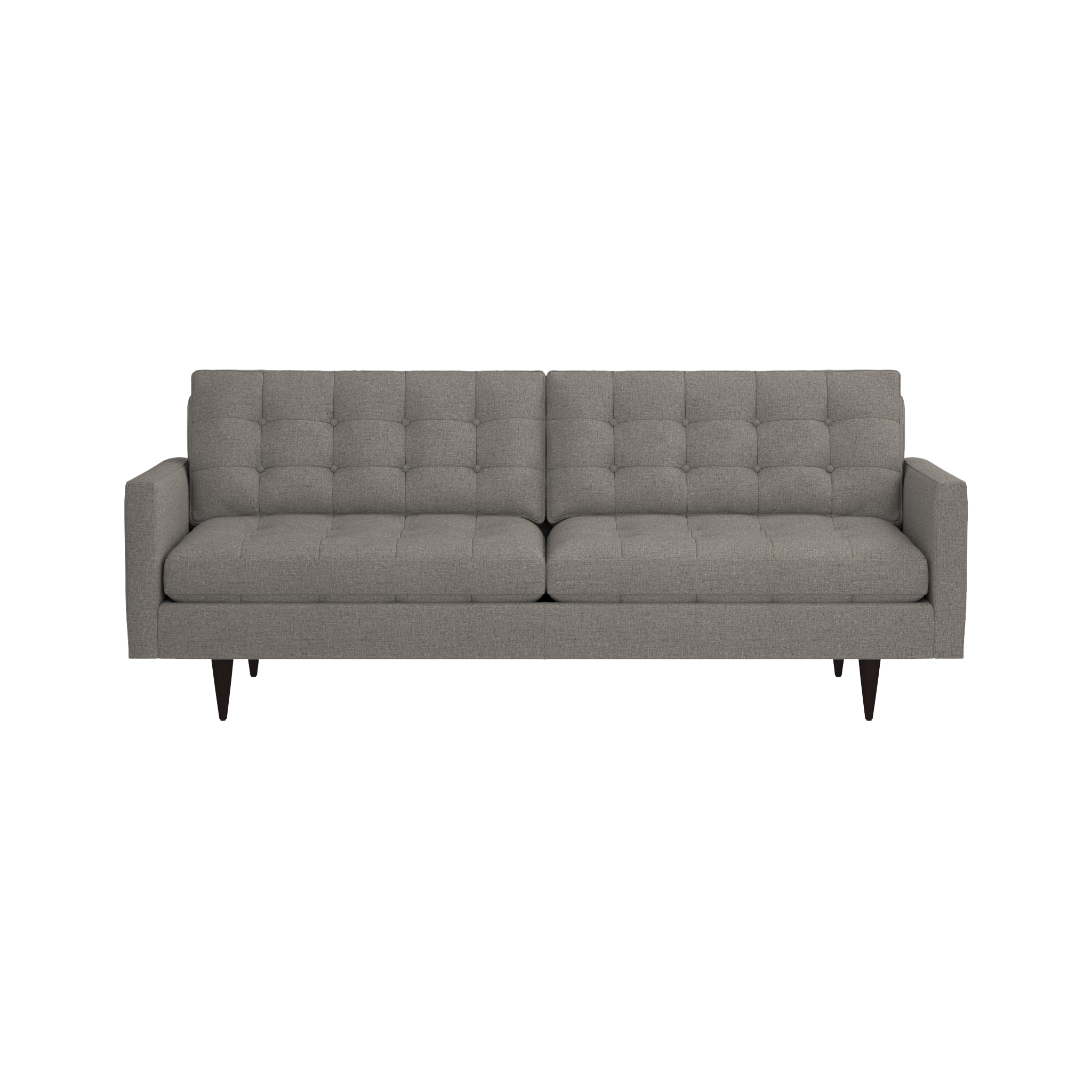 Petrie Mid Century Sofa | Crate And Barrel With Sectional Crate And Barrel (Image 16 of 20)