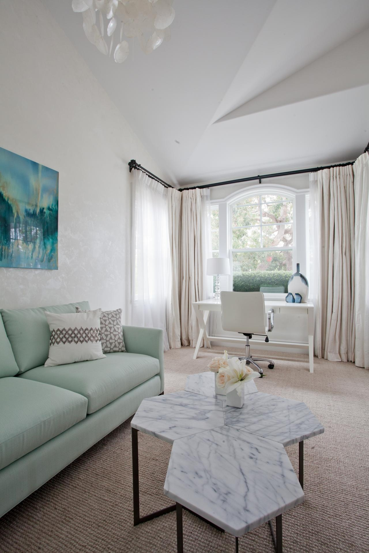 Photo Page | Hgtv Pertaining To Mint Green Sofas (View 5 of 20)