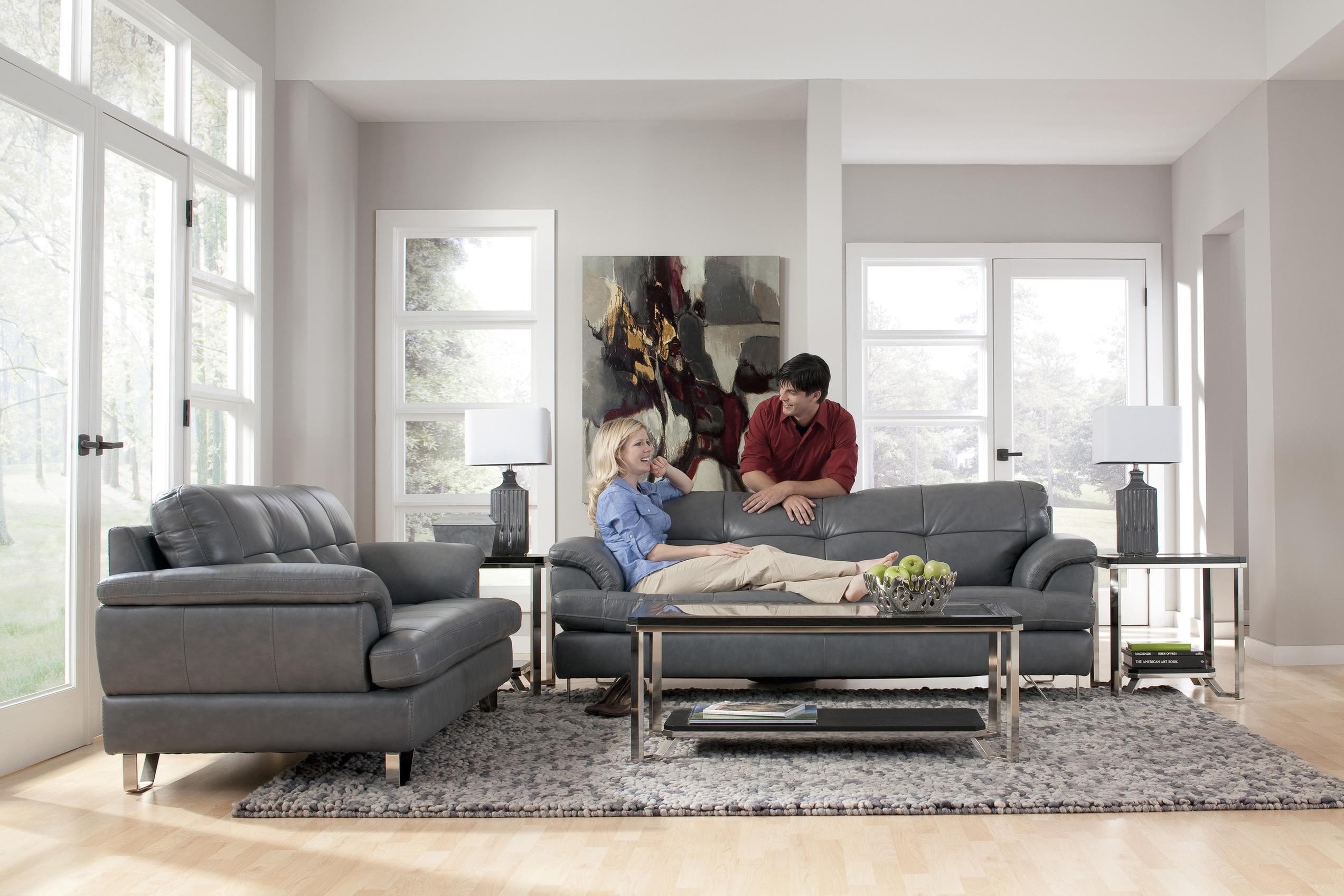 Pictures Of Living Rooms With Gray Sofas – Creditrestore Within Gray Sofas For Living Room (View 2 of 20)